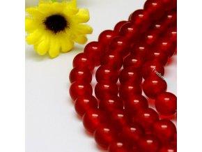 Jadeit červený1 8 mm