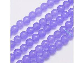 Jadeit světle fialový 8 mm
