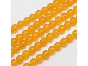 Jadeit žlutý 8 mm