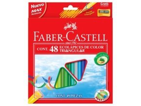 2885 1 pastelky trojhranne 48 eco faber castell