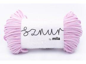 Mila šňůra 5mm marshmallow