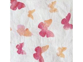 Ubrousek 33x33 Motýlci