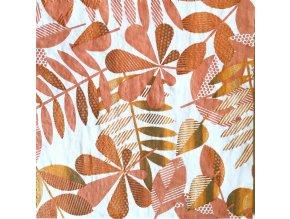 Ubrousek 25x25 Podzimní listí 1