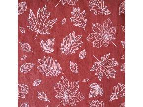 Ubrousek 25x25 Podzimní listí 2
