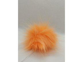 Bambule 10 cm Oranžová neon