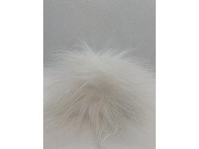Bambule 10 cm Bílá