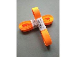 Stuha taftová světle oranžová