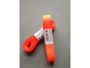 Stuha taftová reflexní oranžová