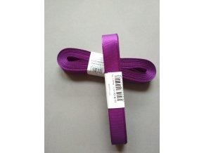 Stuha taftová středně fialová