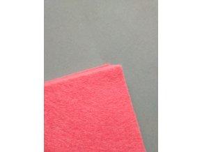 Filc 1mm 20x30cm červeno-růžový