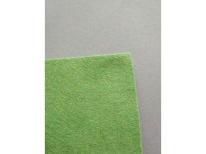 Filc 1mm 20x30cm středně zelený