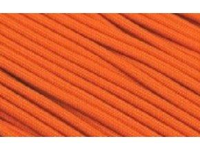 Paracord tmavě oranžový