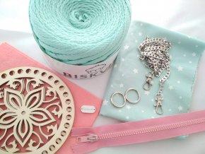 Balíček na výrobu kulaté kabelky 3D Tiffany