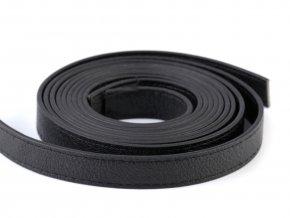 Popruh prošitý 120 cm černý