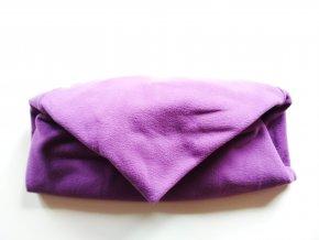 Vak do pufu 40x30 cm fialový