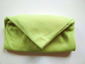 Vak do pufu 40x30 cm světle zelený