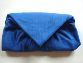 Vak do pufu 40x30 cm modrý