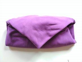 Vak do pufu 50x35 cm fialový