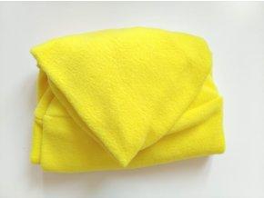 Vak do pufu 50x20 cm žlutý