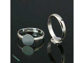 Základ prstenu stříbrný