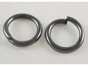 Spojovací kroužky černé 6mm