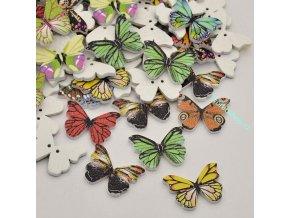 Knoflíky motýlci 3