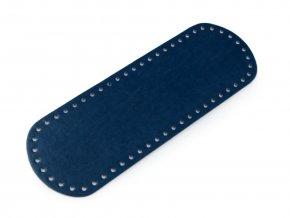 Dno tašky 10x30 cm modré