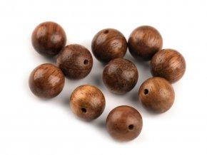 Dřevěné korálky 10mm palisandr