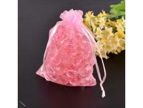 Pytlíčky 7 x 9 cm sv.růžové