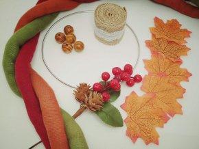 Balíček na výrobu věnce podzimní 3