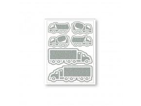 Reflexní nažehlovačky kamiony