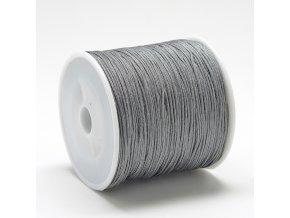 Nylonová šňůra 0,8mm šedá