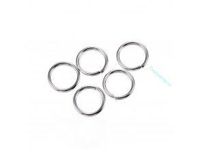 Spojovací kroužky nerezová ocel 4mm