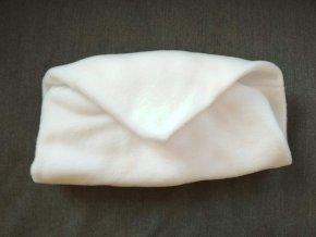 Vak do pufu 50x20 cm bílý