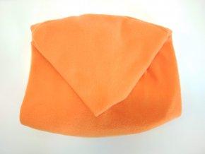 Vak do pufu 50x35 cm oranžový