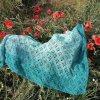 Inspirace - hotový šátek od naší spokojené zákaznice :-)