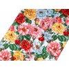 Bavlněné vaflové piké květy