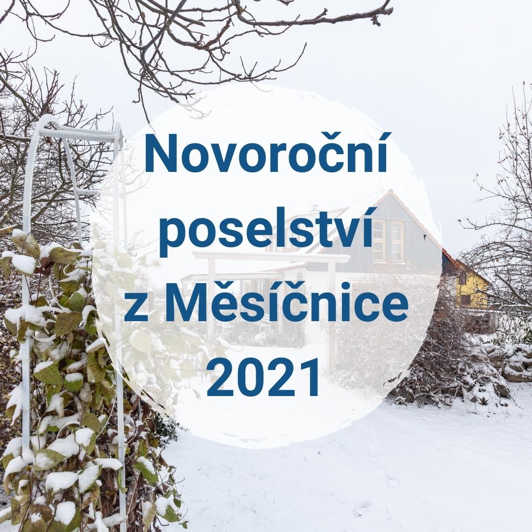 Novoroční poselství z Měsíčnice pro rok 2021