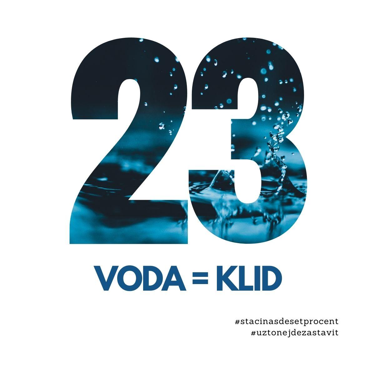 23. den: Voda = Klid