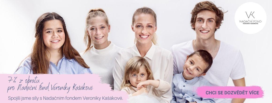 Spojili jsme síly s nadačním fondem Veroniky Kašákové