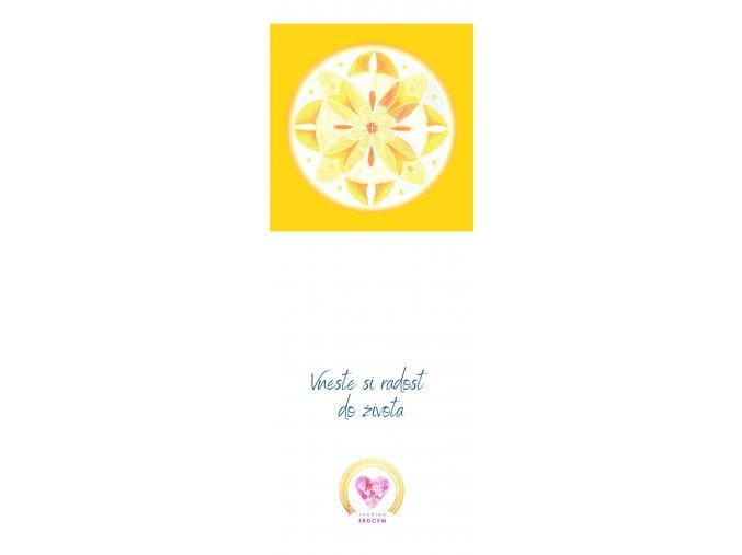 Feng shui mandala stesti a radost zalozky do knih (10)