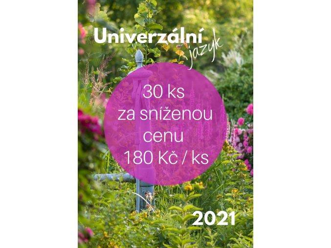 30ks Kalendář 2021 Univerzální jazyk pro firemni klienty