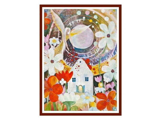 Feng shui obrazy Andel zehna zahradkarum 1