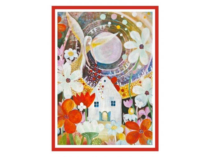 Feng shui obrazy Andel zehna zahradkarum 2