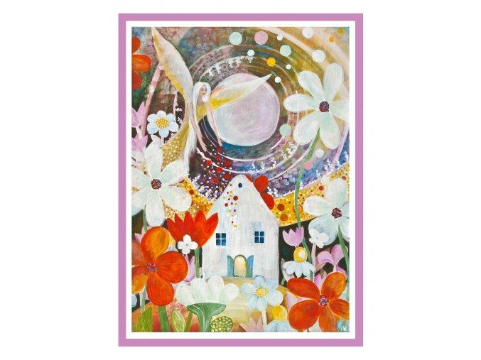Feng shui obrazy Andel zehna zahradkarum 3