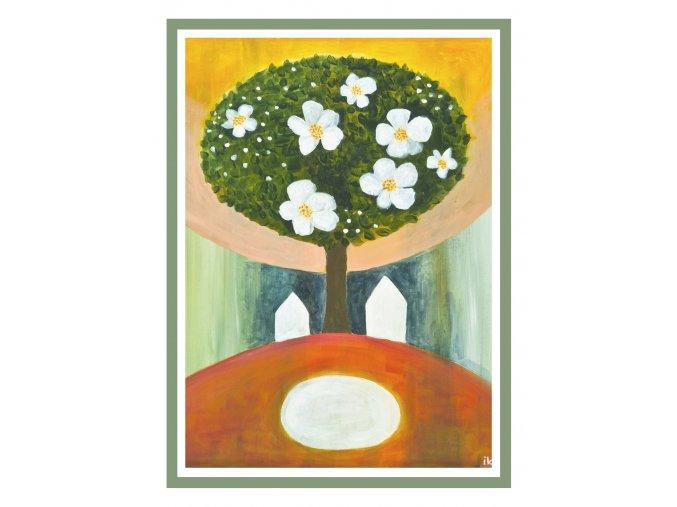 Feng shui obrazy Stromy jsou nasi andele 3