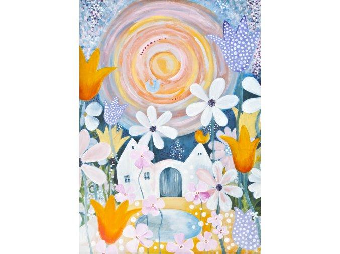 Tvorimesrdcem fengshui obrazy Ireny Kovarove U nas v tulipanove II