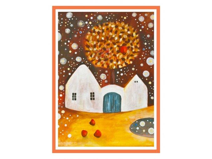 Feng shui obrazy Podzim