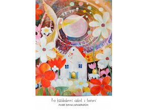 andel zehna zahradkarum pohlednice