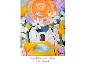 u nas v tulipanove I feng shui pohlednice